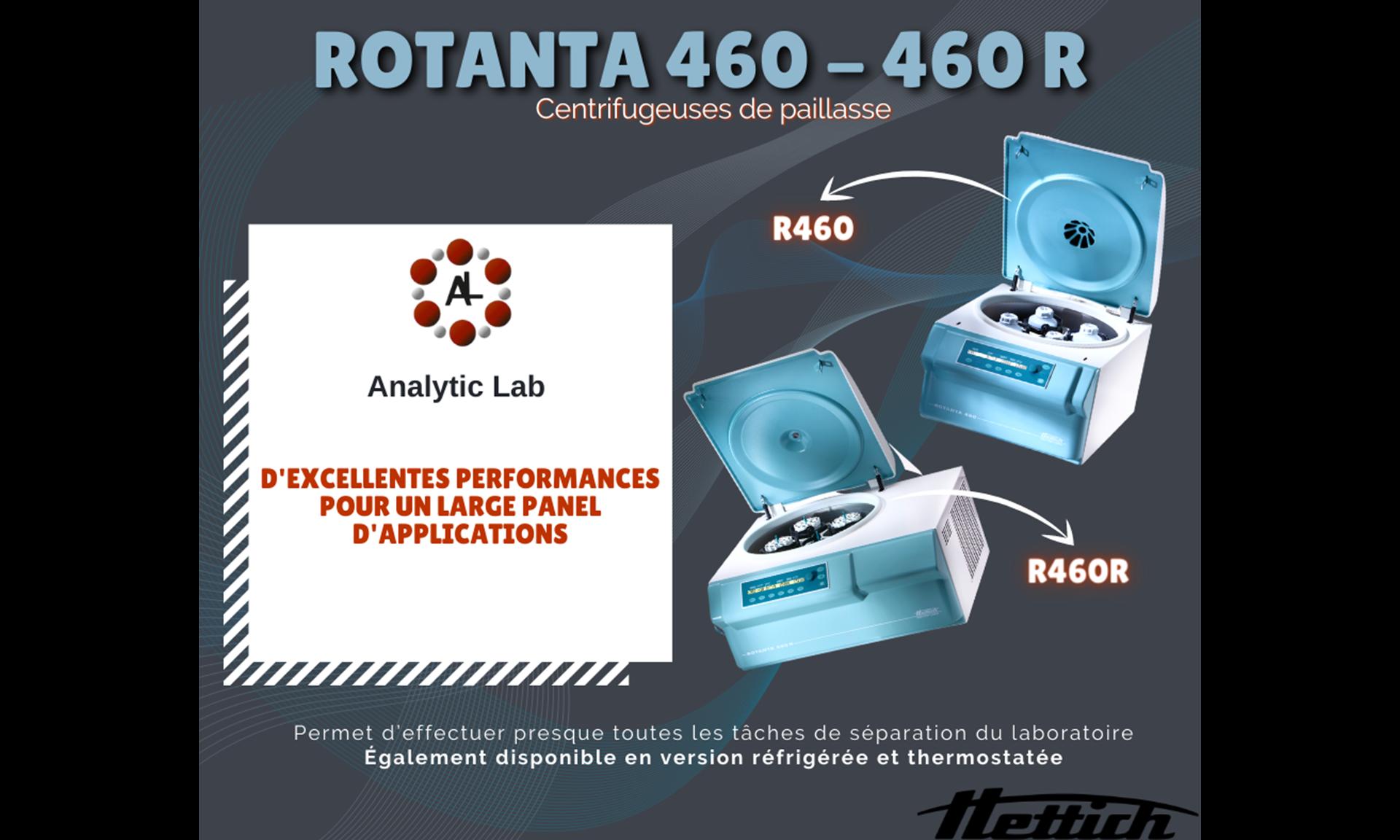 Centrifugeuse Rotanta 460 de notre partenaire Hettich France